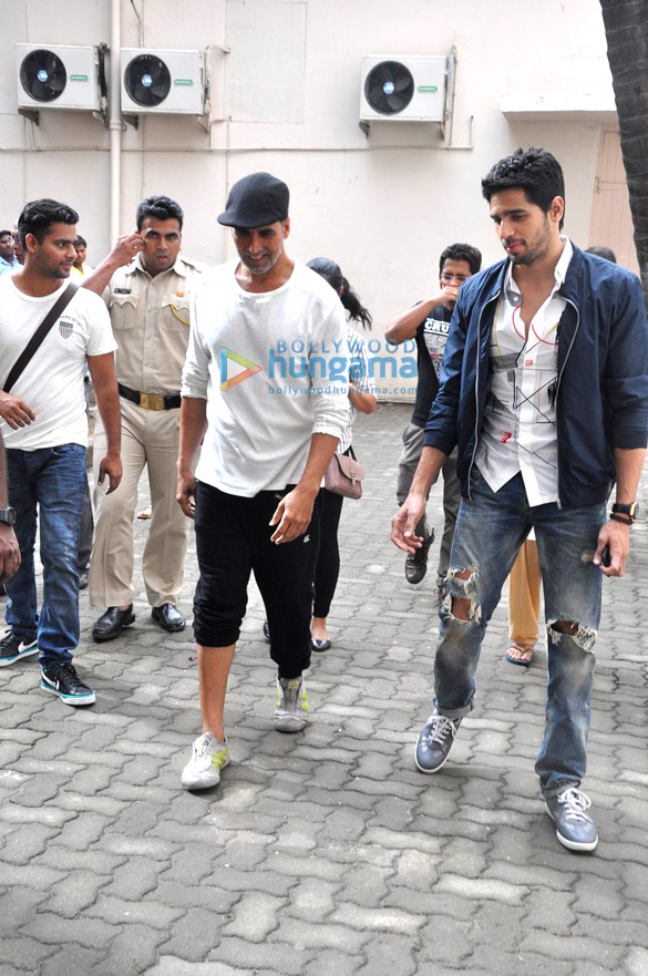 Brothers Akshay Kumar and Sidharth Malhotra Face-Off in