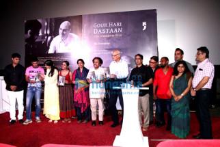 Siddharth Jadhav, Tannishtha Chatterjee, Kavita Krishnamurthy, L Subramaniam, Julio Ribeiro, Ananth Narayan Mahadevan, Vinay Pathak, Ranvir Shorey