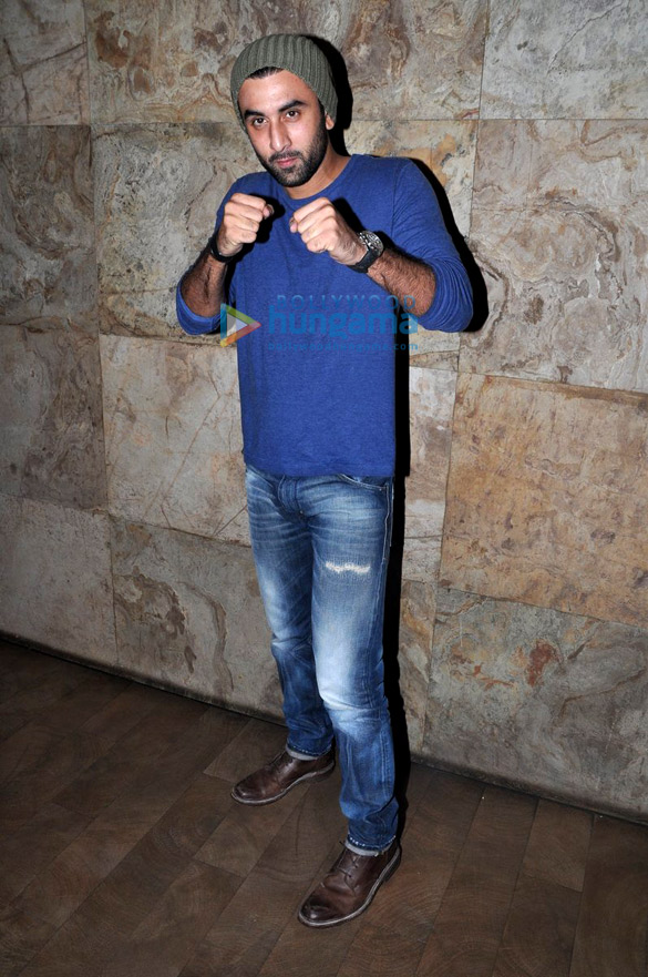 Ranbir Kapoor, Katrina Kaif, Sidharth Malhotra & Alia Bhatt grace the screening of 'Brothers'