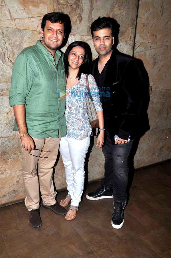 Ranbir Kapoor, Katrina Kaif, Sidharth Malhotra & Alia Bhatt grace the screening of 'Brothers'