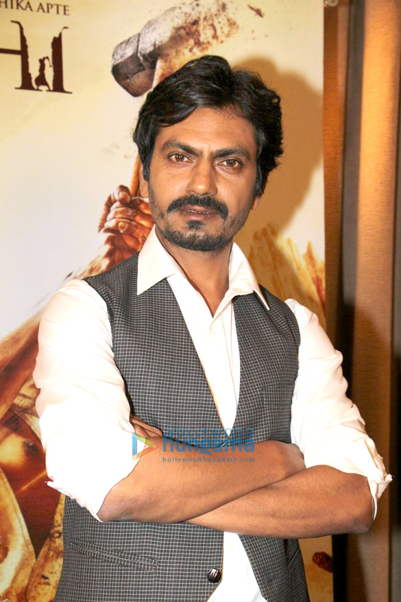 Nawazuddin Siddiqui promotes 'Manjhi The Mountain Man'