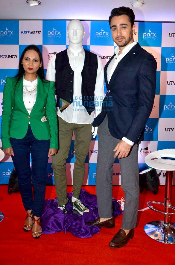 Imran Khan unveils Parx's 'Katti Batti' collection