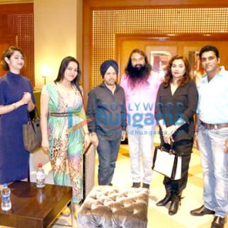 Salma Agha, Honeypreet Insan, Gurmeet Ram Rahim Singh Ji Insan