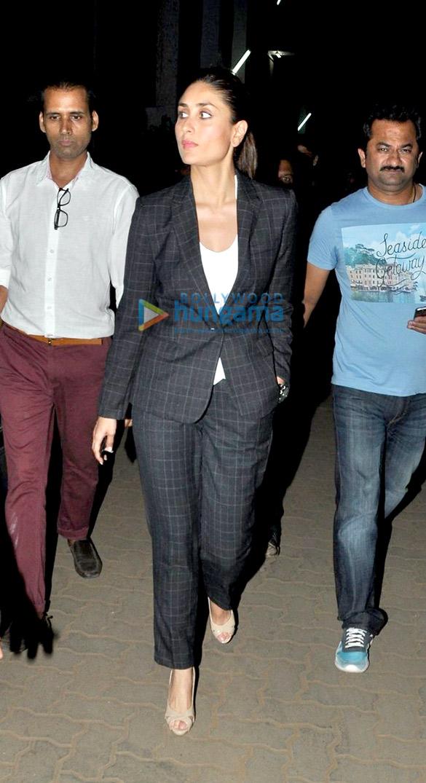 Arjun Kapoor & Kareena Kapoor Khan snapped on the sets of 'Ki And Ka'