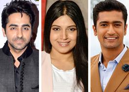 Ayushmann Khurrana - Bhumi Pednekar team up with Masaan actor Vicky Kaushal
