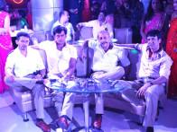 Movie Still From The Film Chaalis Chauraasi,Atul Kulkarni,Ravi Kissen,Naseeruddin Shah,Kay Kay Menon