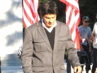 On The Sets Of The Film My Name is Khan Featuring Shahrukh Khan