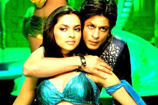 Movie Still From The Film Billu,Deepika Padukone,Shahrukh Khan
