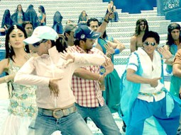 On The Sets Of The Film Billu Featuring Kareena Kapoor,Shahrukh Khan