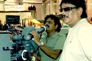 On The Sets Of The Film Billu Featuring Priyadarshan