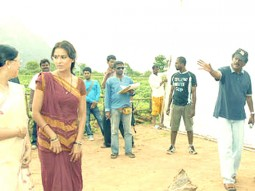 On The Sets Of The Film Billu Featuring Lara Dutta