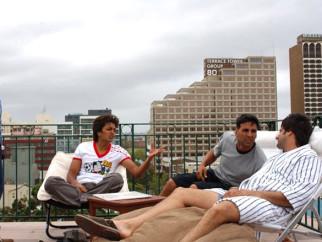On The Sets Of The Film Heyy Babyy Featuring Riteish Deshmukh,Akshay Kumar,Fardeen Khan