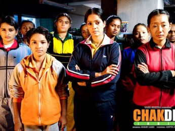Movie Still From The Film Chak De India