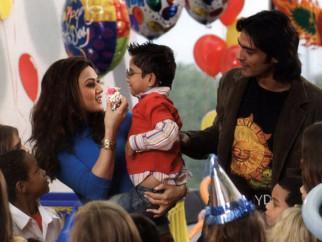 Movie Still From The Film Kabhi Alvida Naa Kehna,Preity Zinta,Arjun Rampal