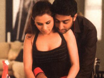 Movie Still From The Film Kabhi Alvida Naa Kehna,Rani Mukerji,Abhishek Bachchan