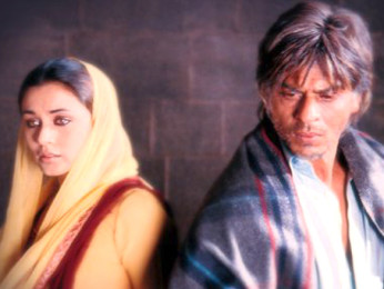 Movie Still From The Film Veer Zaara Featuring Rani Mukherjee,Shahrukh Khan