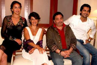 On The Sets Of The Film Tell Me O Kkhuda Featuring Esha Deol,Rishi Kapoor,Arjan Bajwa