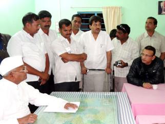 Anna Hazare,Annu Kapoor,Nitin Manmohan
