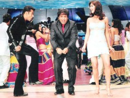 Movie Still From The Film Partner Featuring Salman Khan,Govinda,Katrina Kaif