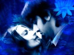 Movie Still From The Film Saawariya Featuring Sonam Kapoor,Ranbir Kapoor