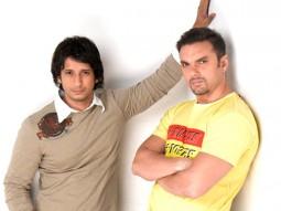 Movie Still From The Film Hello,Sharman Joshi,Sohail Khan