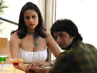 Movie Still From The Film Hello,Gul Panag,Sharman Joshi
