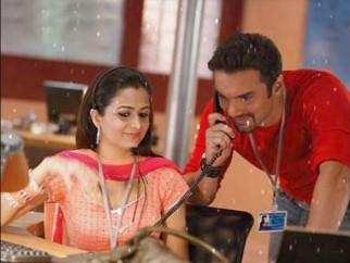 Movie Still From The Film Hello,Amrita Arora,Sohail Khan