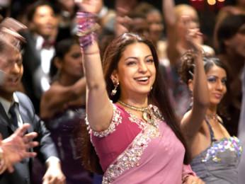 Movie Still From The Film Salaam-E-Ishq,Juhi Chawla