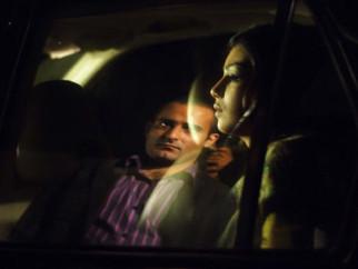 Movie Still From The Film Salaam-E-Ishq,Akshaye Khanna,Ayesha Takia Azmi