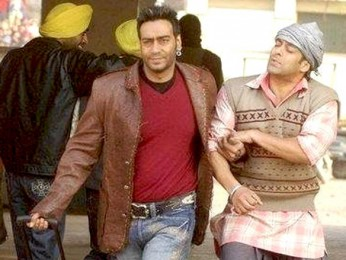 On The Sets Of The Film London Dreams Featuring Ajay Devgn,Salman Khan