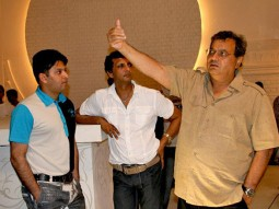 On The Sets Of The Film Yuvvraaj Featuring Subhash Ghai