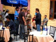 On The Sets Of The Film Baabul Featuring Rani Mukerji,Salman Khan