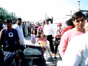 On The Sets Of The Film Maine Pyaar Kyun Kiya Featuring Katrina Kaif