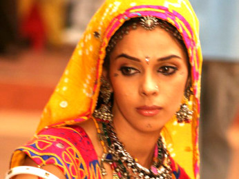 On The Sets Of The Film Welcome Featuring Mallika Sherawat