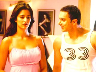 Movie Still From The Film Maine Pyaar Kyun Kiya Featuring Sohail Khan,Katrina Kaif