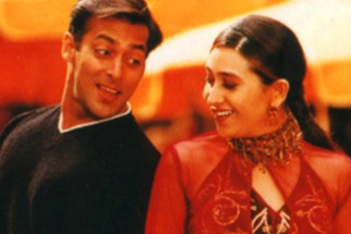 Movie Still From The Film Chal Mere Bhai Featuring Salman khan,Karisma Kapoor