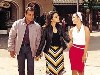 Movie Still From The Film Chori Chori Chupke Chupke Featuring Salman Khan,Preity Zinta