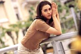 Movie Still From The Film Dulhan Hum Le Jayenge Featuring Karisma Kapoor