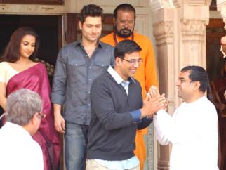 Movie Still From The Film Bhool Bhulaiyaa,Vidya Balan,Shiney Ahuja,Akshay Kumar,Paresh Rawal