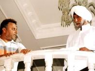 On The Sets Of The Film Ab Tumhare Hawale Watan Saathiyo Featuring Amitabh Bachchan