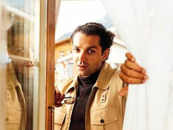 Movie Still From The Film Ajnabee Featuring Bobby Deol