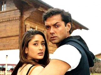 Movie Still From The Film Ajnabee Featuring Kareena Kapoor,Bobby Deol