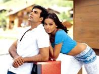 Movie Still From The Film Ajnabee Featuring Akshay,Bipasha Basu