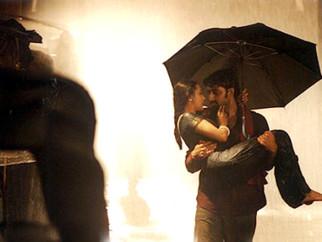 Movie Still From The Film Yuva Featuring Rani Mukherjee,Abhishek Bachchan