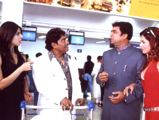 Movie Still From The Film 36 China Town,Tanaz Currim,Johny Lever,Paresh Rawal
