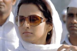 Movie Still From The Film Halla Bol,Vidya Balan