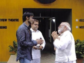 Movie Still From The Film Halla Bol,Ajay Devgn,Sudhir Mishra