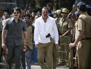 Movie Still From The Film Shoot Out At Lokhandwala Featuring Arbaaz Khan,Sanjay Dutt