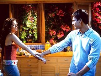 Movie Still From The Film Kyun! Ho Gaya Na,Aishwarya Rai,Vivek Oberoi