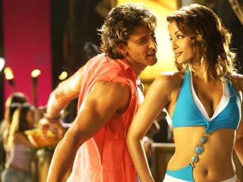 Movie Still From The Film Dhoom 2,Hrithik Roshan,Aishwarya Rai